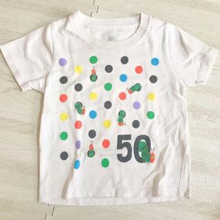 Design Tshirts Store graniph - Tシャツ グラニフ はらぺこあおむし 80