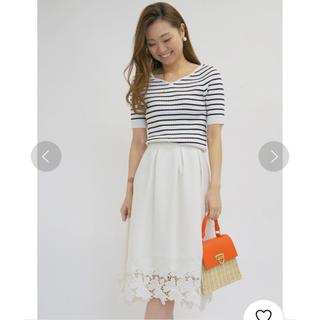 31 Sons de mode - 美品♡裾レースミディ丈タックスカート