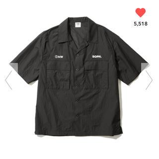 ジーユー(GU)のGU SOPH コラボ オープンカラーシャツ 1MW by SOPH.(シャツ)
