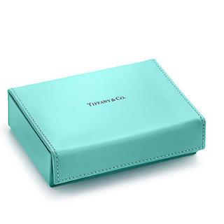 Tiffany & Co. - 新作 ティファニー キャッチ オールトレー ティファニーブルーレザー