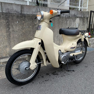 ホンダ - リトルカブ  ベージュ 4速 セル付 大阪