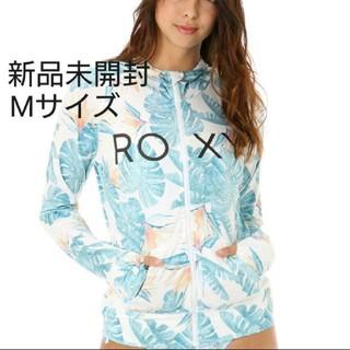 Roxy - ROXY ロキシー ラッシュガード パーカー M 水着 羽織 UV 日焼け防止