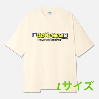 ジーユー(GU)のGU× STUDIO SEVEN オーバーサイズTシャツ5分袖(Tシャツ/カットソー(半袖/袖なし))