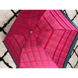 ジバンシィ(GIVENCHY)の折りたたみ傘 かさ 傘 チェック(傘)