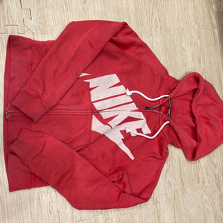 ナイキ(NIKE)の☆決算セール☆ナイキ パーカー レディース  赤 Mサイズ(パーカー)