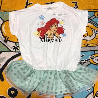 ディズニー(Disney)の新品 リトルマーメイド 裾フリル カットソー(カットソー(半袖/袖なし))