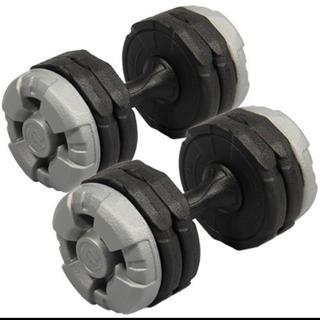 アーミーダンベル10kg×2個セット(トレーニング用品)