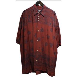 ジョンローレンスサリバン(JOHN LAWRENCE SULLIVAN)のMAGLIANO 20SS BIG SHORT SLEEVE レーヨンシャツ(シャツ)