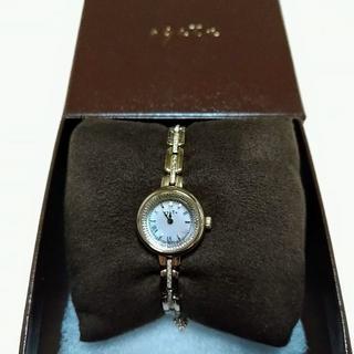 アガット(agete)のありんこ様専用★腕時計 agete ソーラー ラウンドウォッチ(腕時計)
