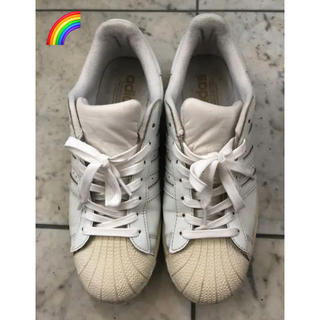 アディダス(adidas)の✅【入手困難】adidas SUPERSTAR エナメル ホワイト 27.0㎝(スニーカー)