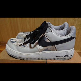 ナイキ(NIKE)のNIKE AIR FORCE 1 PREMIUM NATURAL GREY (スニーカー)