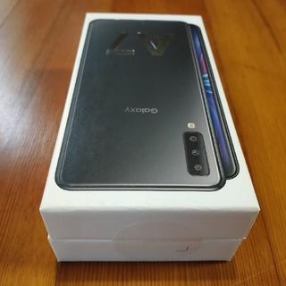 サムスン(SAMSUNG)のサムスン Galaxy A7 64GB SIMフリー 黒 新品未開封(スマートフォン本体)