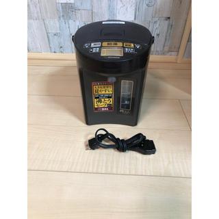 象印 電気ポット 2.2L 優湯生 ブラウン CV-GA22(電気ポット)