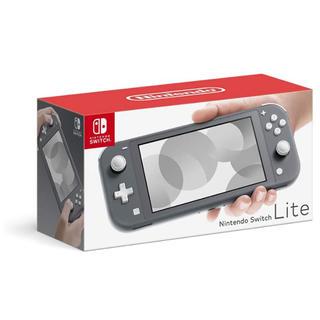 ニンテンドースイッチ(Nintendo Switch)のNintendo Switch Lite 任天堂 スイッチライト グレー(携帯用ゲーム機本体)