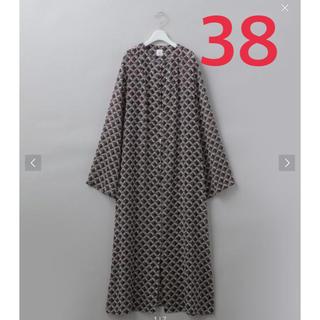 BEAUTY&YOUTH UNITED ARROWS - ROKU  SQUARE PRINT DRESS  スクエア柄 ワンピース 新作