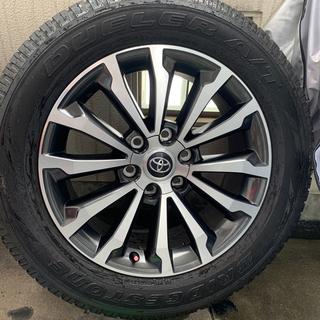 トヨタ - プラド150  純正19インチ タイヤホイール