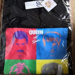 ジーユー(GU)のGUジーユーグラフィックティシャツ(QUEENクィーン)Lサイズ(Tシャツ/カットソー(半袖/袖なし))