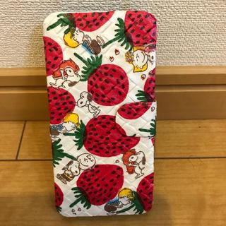 スヌーピー(SNOOPY)のスマホケース iPhone7/8 スヌーピー マリメッコ ハンドメイド(iPhoneケース)
