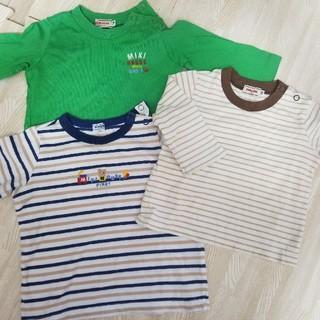 ミキハウス(mikihouse)のミキハウスの長袖Tシャツ70~80セット(Tシャツ)