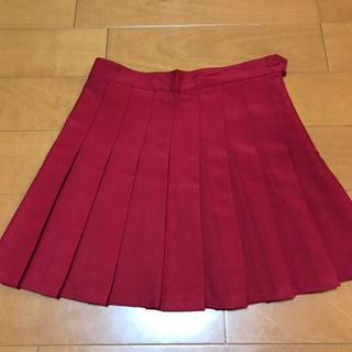 アメリカンアパレル(American Apparel)のアメリカンアパレル テニススカート 赤 XS(ミニスカート)