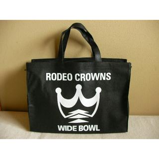 ロデオクラウンズ(RODEO CROWNS)のロデオクラウンズバッグ★ 新品 RODEOCROWNS★特大トートバッグ(ショップ袋)
