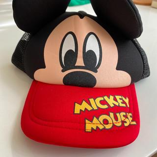 Disney - ミッキーマウス キャップ サイズ52 キッズ