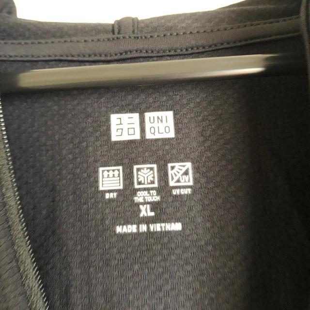 UNIQLO(ユニクロ)のユニクロ エアリズム メッシュ パーカ レディースのトップス(パーカー)の商品写真