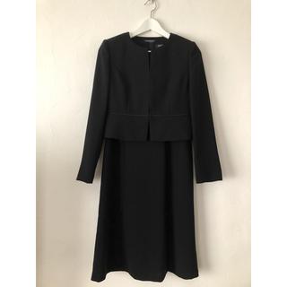 アオヤマ(青山)の新品未使用 青山 ブラック フォーマル 喪服 礼服  ワンピース(礼服/喪服)