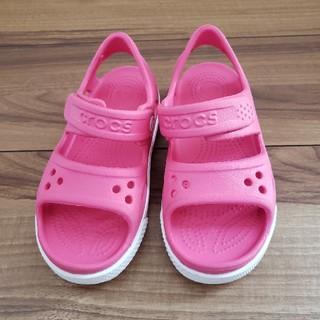 crocs - 美品☆クロックスサンダル  18cm