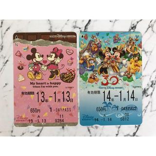 ディズニー(Disney)のら・ら様専用[使用済]ディズニーリゾートラインチケット(その他)