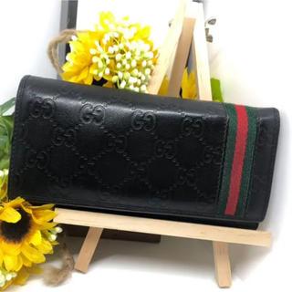 グッチ(Gucci)の【⭐️コスパ⭐️】 グッチ シェリー シマ 長財布 折り財布 エンボス(長財布)
