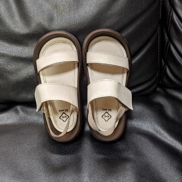 Regetta Canoe(リゲッタカヌー)の緊急時間限定 リゲッタ カヌー サンダル 19cm キッズ/ベビー/マタニティのキッズ靴/シューズ(15cm~)(サンダル)の商品写真