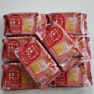 アサヒ(アサヒ)の【お買得】クリーム玄米ブラン  苺チーズタルト 8袋☆期間限定(菓子/デザート)