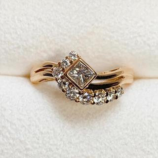 ポーラ(POLA)の●POLA k18 ダイヤモンド リング(リング(指輪))
