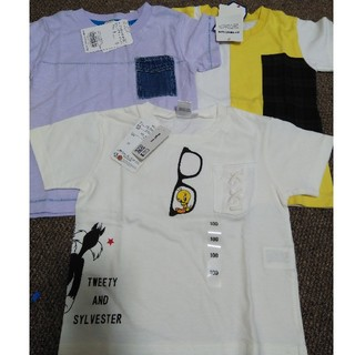 ブランシェス(Branshes)のブランシェス ライトオン☆半袖Tシャツ セット 100(Tシャツ/カットソー)