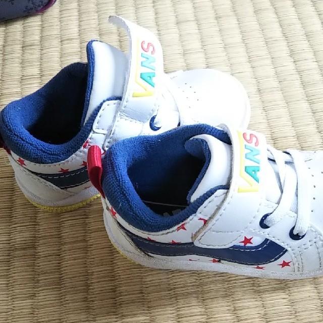 VANS(ヴァンズ)のVANS キッズ ベビー シューズ スニーカー キッズ/ベビー/マタニティのベビー靴/シューズ(~14cm)(スニーカー)の商品写真