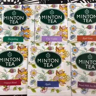 ミントン(MINTON)のミントン紅茶 6種類18ティーバッグ  ティータイムに❣️(茶)