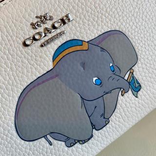 COACH - 新品 コーチxディズニー限定コラボ 長財布  ダンボ  二つ折り財布
