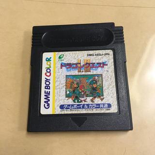ゲームボーイ(ゲームボーイ)のゲームボーイカラー ドラゴンクエストI.Ⅱ(携帯用ゲームソフト)
