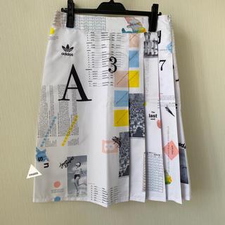 アディダス(adidas)のadidas originals(アディダスオリジナルス) プリーツスカート(ひざ丈スカート)