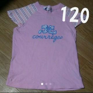 クレージュ(Courreges)の120cm クレージュ courreges 半袖 Tシャツ(Tシャツ/カットソー)