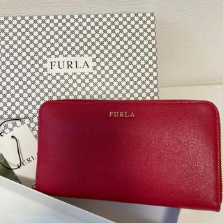 Furla - 【新品未使用】フルラ FURLA ラウンドジップ 長財布 バビロン 箱 袋付き