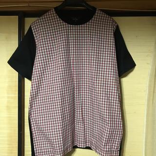 ポールスミス(Paul Smith)のポールスミス異素材Tシャツ(Tシャツ/カットソー(半袖/袖なし))