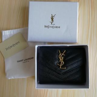 Yves Saint Laurent Beaute - 人気品美品! YSL 折り財布