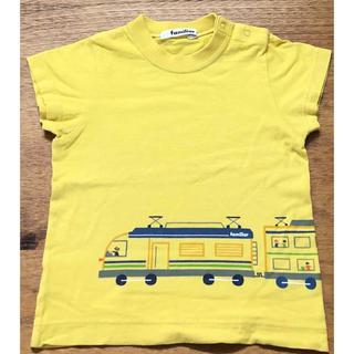 ファミリア(familiar)のファミリア   Tシャツ イエロー 90cm(Tシャツ/カットソー)