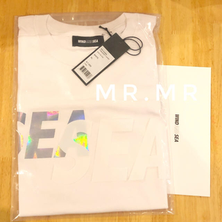 XL SEA (middle-iridescent) T-SHIRT(Tシャツ/カットソー(半袖/袖なし))