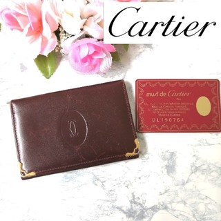 カルティエ(Cartier)のカルティエ♥Cartier♥名刺入れ♥カードケース♥パスケース 327(名刺入れ/定期入れ)
