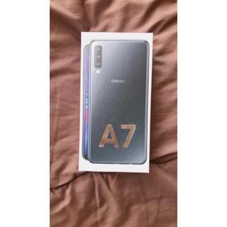 ギャラクシー(Galaxy)のギャラクシーa7(携帯電話本体)