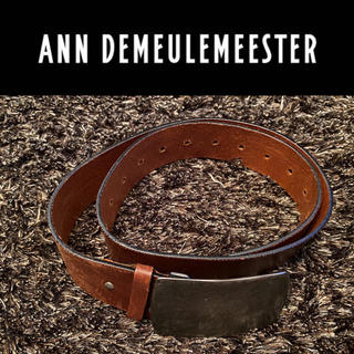 アンドゥムルメステール(Ann Demeulemeester)のAnn  Demeulemeester ベルト ブラウン メンズ(ベルト)