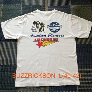 バズリクソンズ(Buzz Rickson's)のレア BUZZRICKSON  L size  (Tシャツ/カットソー(半袖/袖なし))
